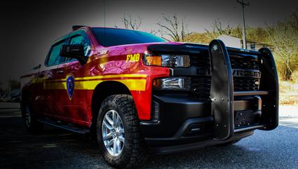 Pickup Fire Truck