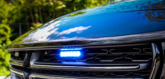 Police Sedan Vehicle