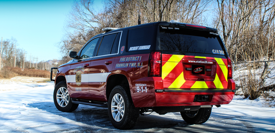 Fire Command Vehicle  2019 Chevy Tahoe