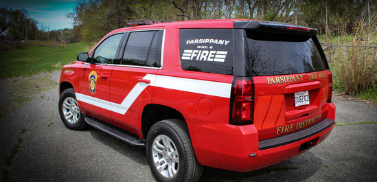 Fire Command Vehicle
