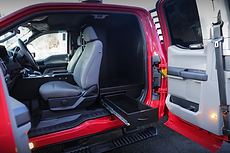 Ford F-250 - Second-row seat cabinet