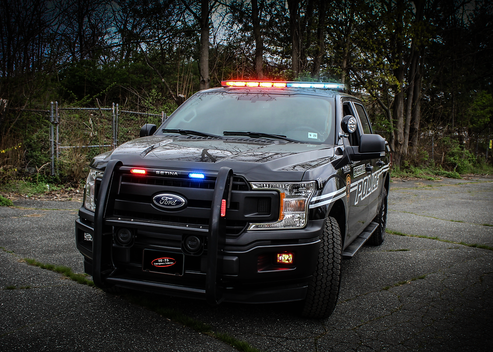 The new Ford F-150 for Cresskill Police