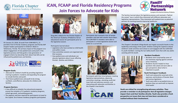 FCAAP Family Partnership Network Poster