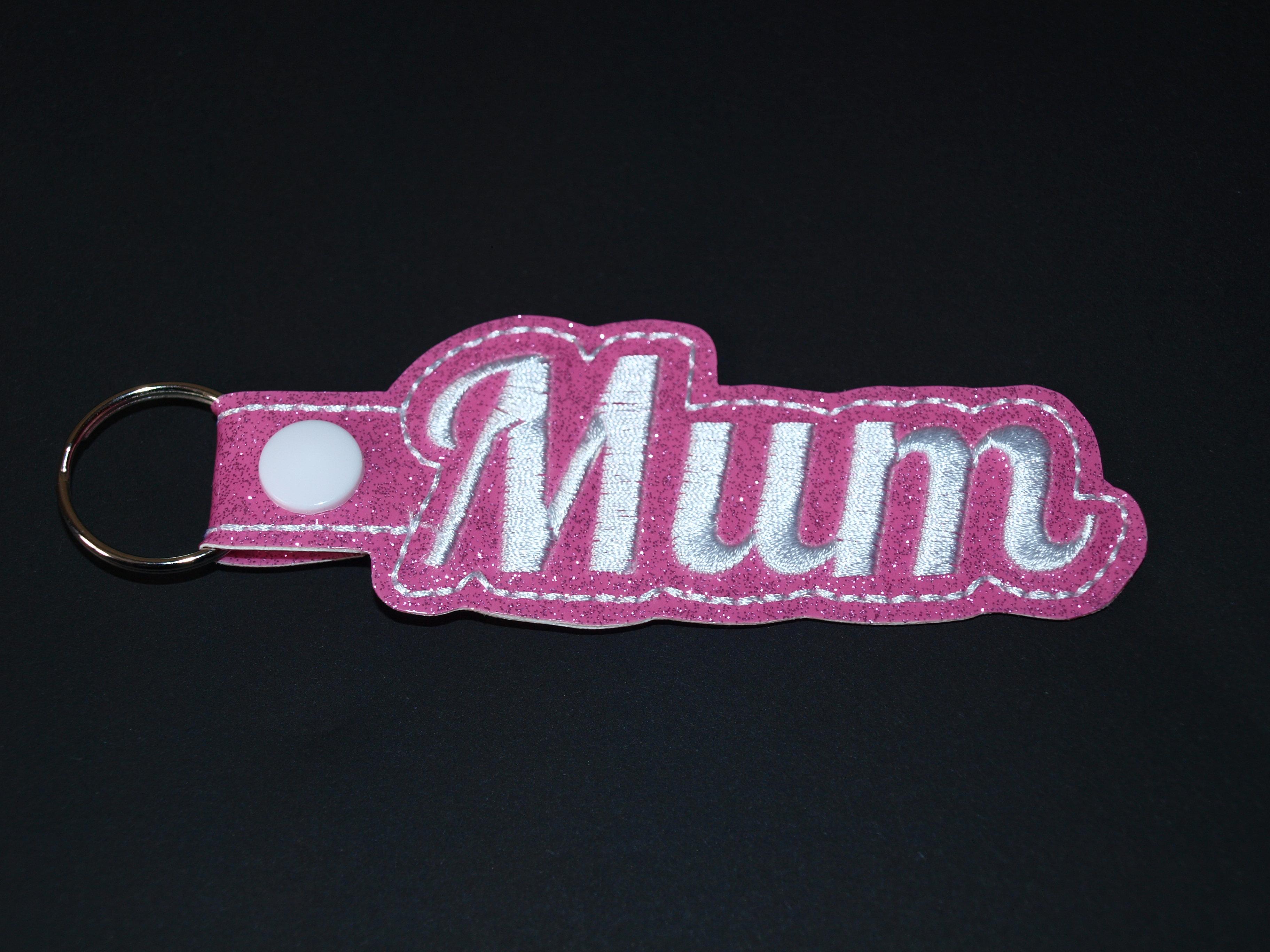 Mum Vinyl Keyring