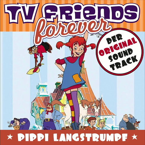 tvff015 Pippi Longstocking (animated series) - Original Soundtrack