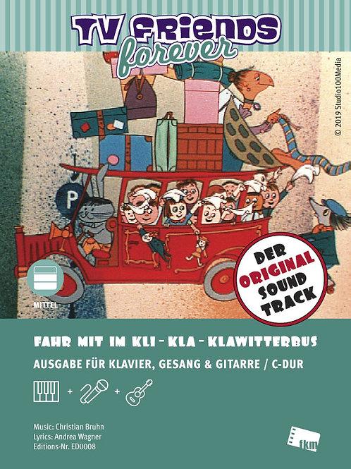 Kli-Kla-Klawitterbus - Noten - Klavier, Gesang, Gitarre - C-Dur