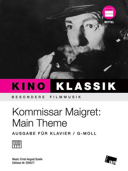 Maigret - Sheet Music - Piano