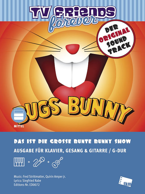 Bugs Bunny - Sheet Music - Piano, Vocal, Guitar
