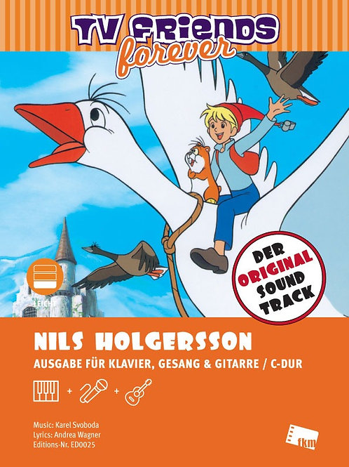Nils Holgersson- Sheet Music- Piano, Vocal, Guitar