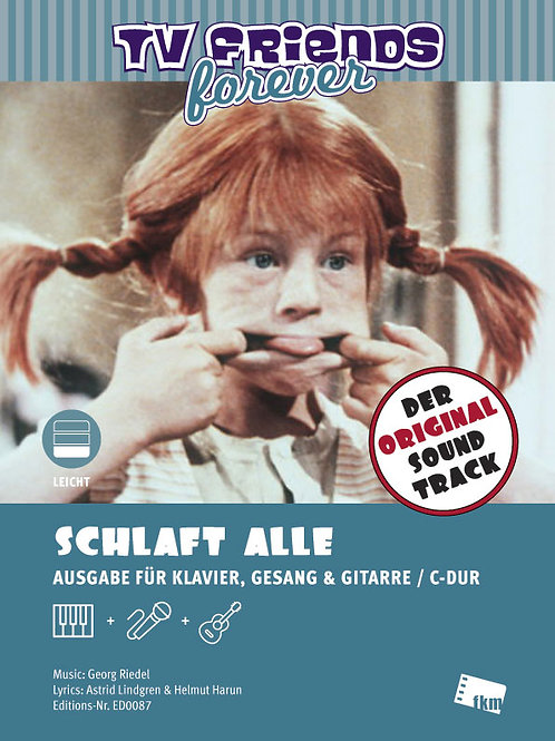 Schlaft alle - Sheet Music - Piano, Vocal, Guitar