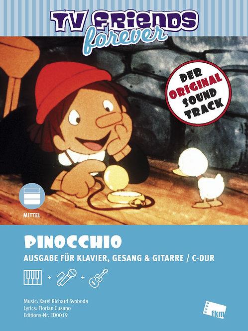 Pinocchio - Noten - Klavier, Gesang, Gitarre