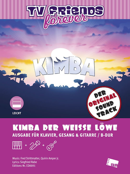 Kimba - Sheet Music - Piano, Vocal, Guitar