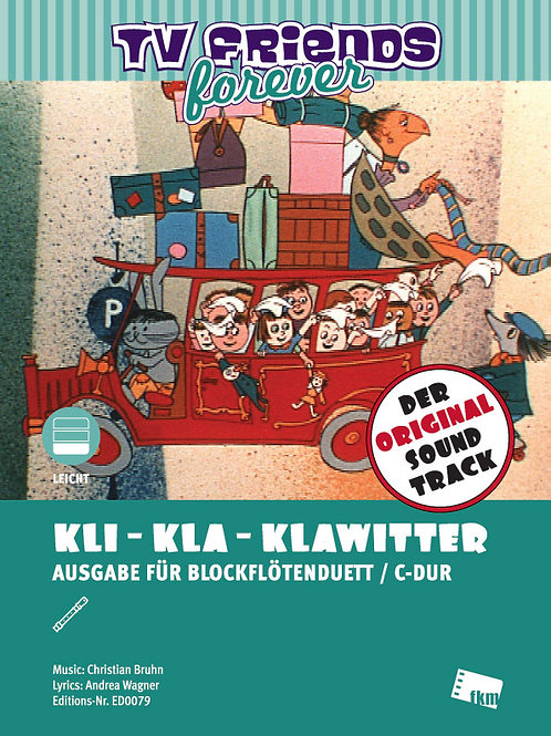 Kli-Kla-Klawitterbus - Sheet Music - 2 Flutes