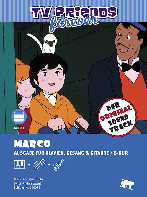 Marco - Noten - Klavier, Gesang, Gitarre