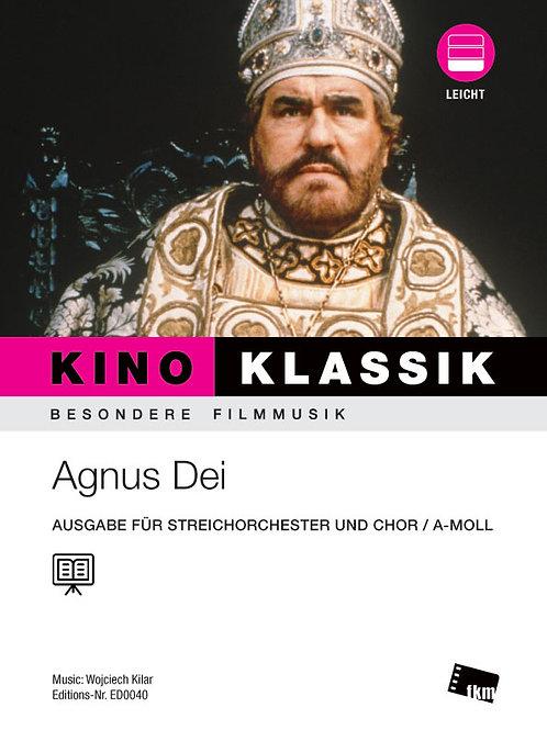König der letzten Tage - Agnus Dei - Noten - Ensemble