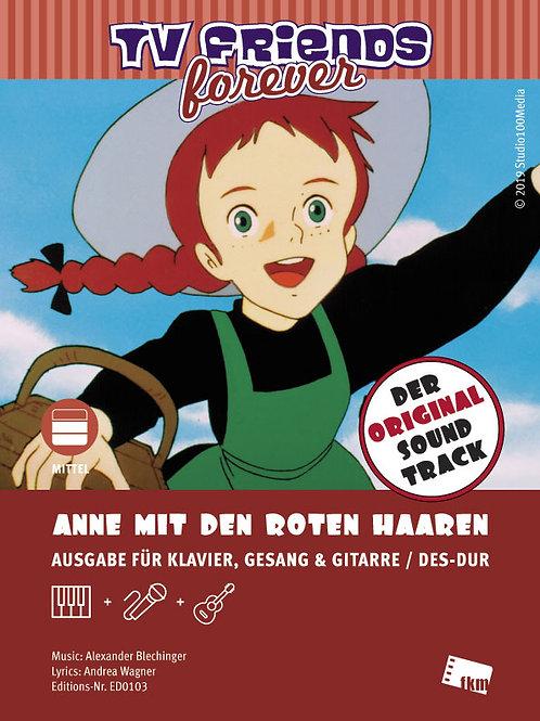 Anne mit den roten Haaren - Noten - Klavier, Gesang, Gitarre