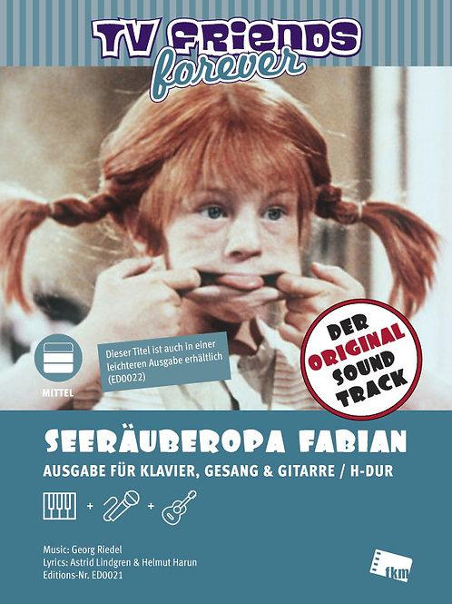 Seeräuberopa Fabian - Noten - Klavier, Gesang, Gitarre - H-Dur