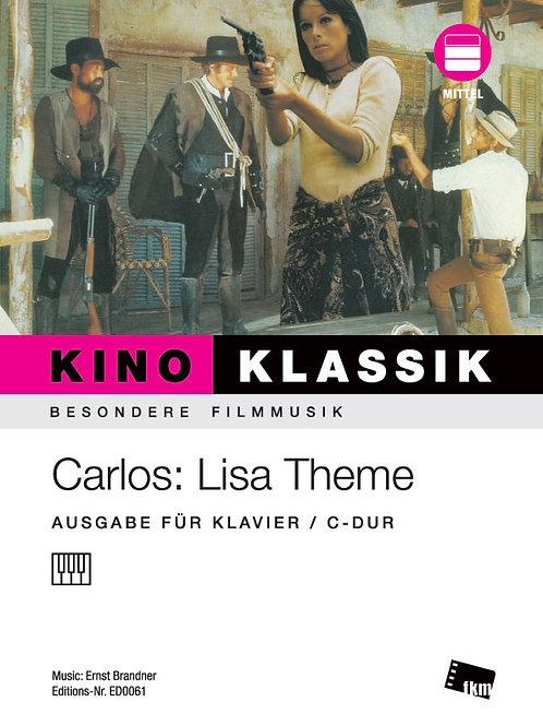 Carlos - Lisa Theme - Sheet Music - Piano
