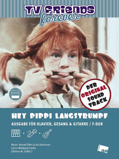 Hey Pippi Langstrumpf - Sheet Music - Piano, Vocal, Guitar