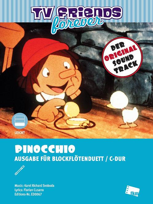 Pinocchio - Sheet Music - 2 Flutes