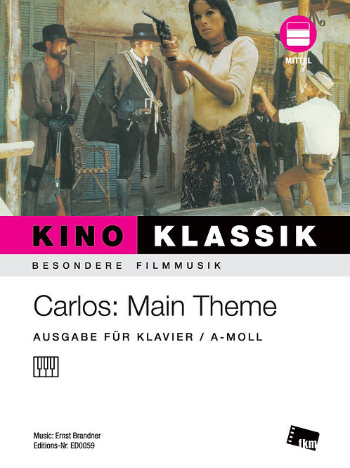 Carlos - Main Theme - Noten - Klavier