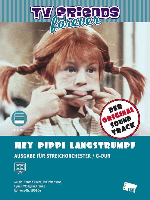 Hey Pippi Langstrumpf - Noten - Ensemble