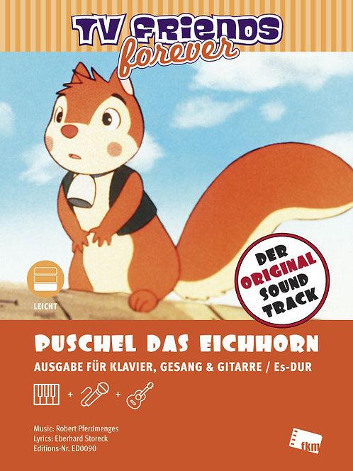 Puschel das Eichhorn - Noten - Klavier, Gesang, Gitarre
