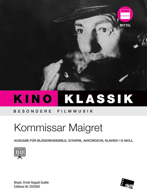 Kommissar Maigret - Noten - Ensemble