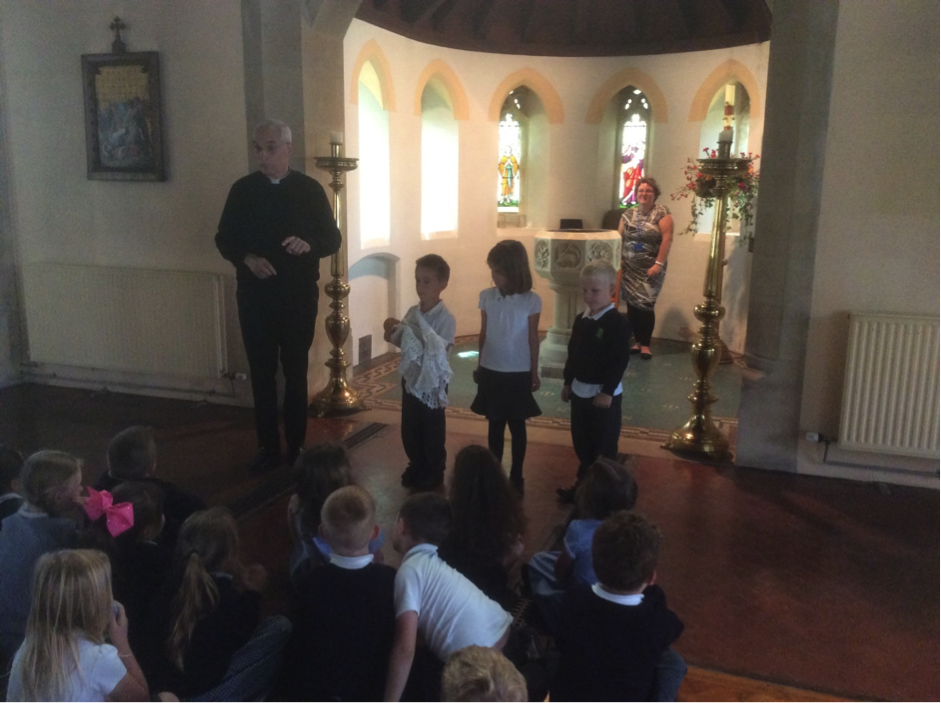 Conifers School Year 1 RE Church Visit 3