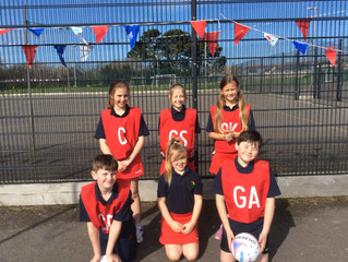 Yr 4 & Yr 5 Netball tournament