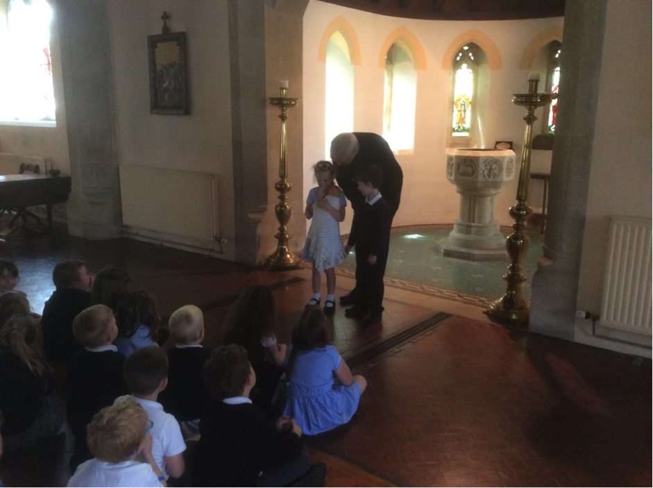 Conifers School Year 1 RE Church Visit