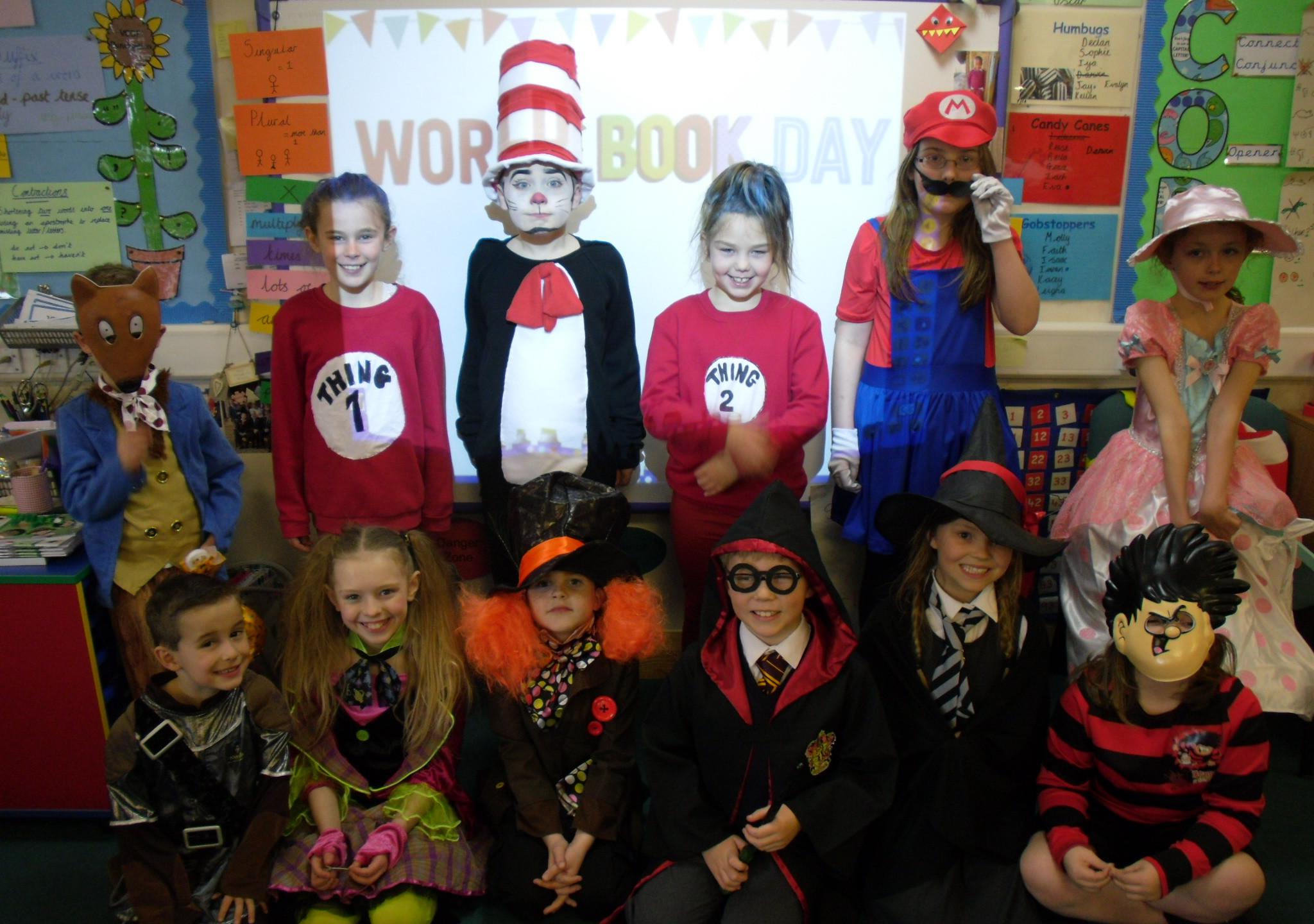 Conifers School World Book Day
