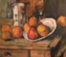 Paul Cezanne reproduction oil painting apples on a table