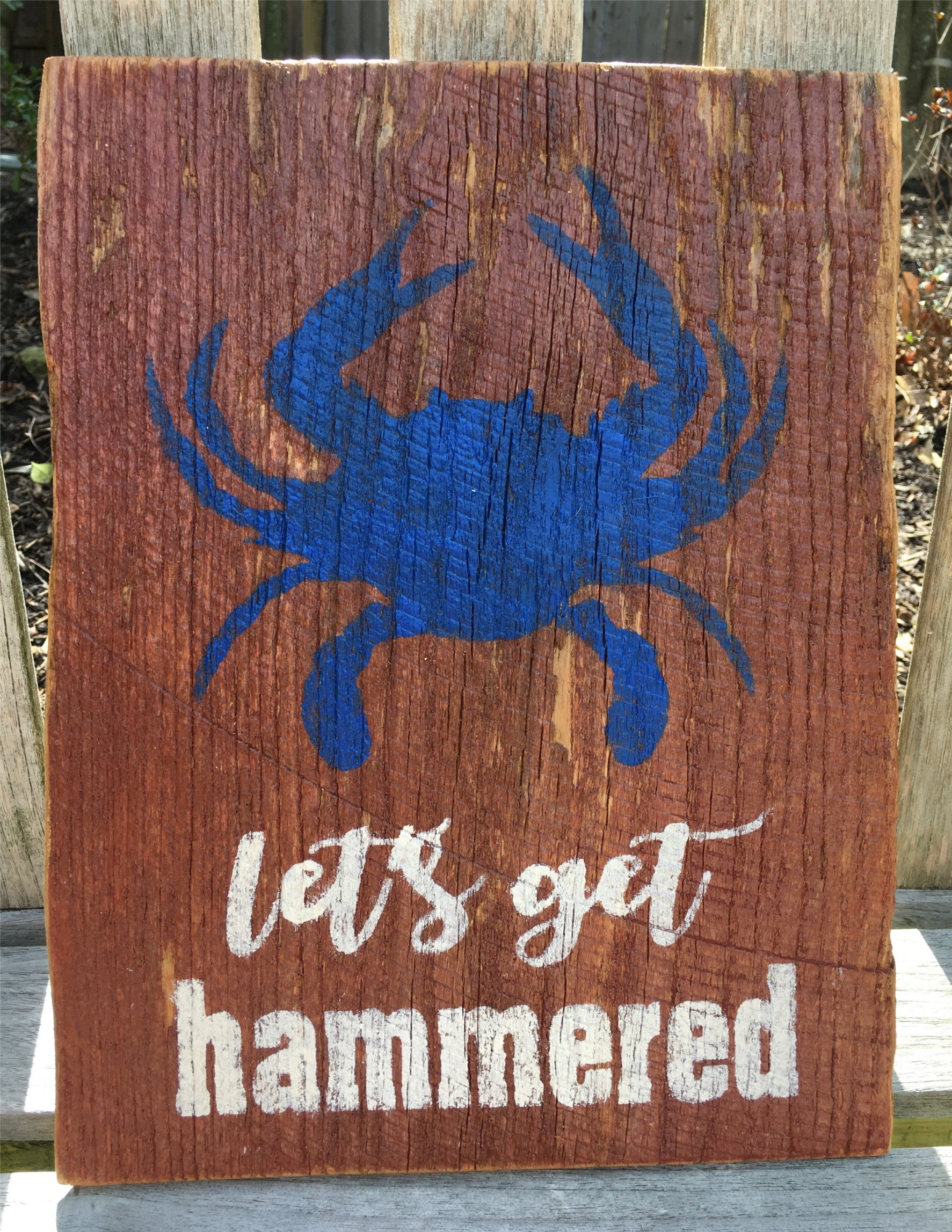 crab hammered