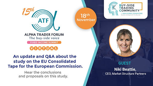 15th Alpha Trader Forum London Fixed Inc