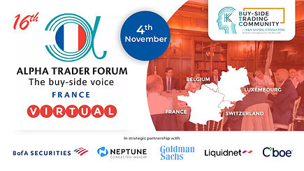 13th Alpha Trader Forum Equities & Fixed