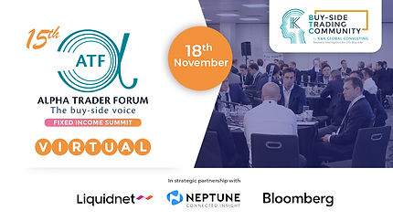 15th Alpha Trader Forum London Virtual F