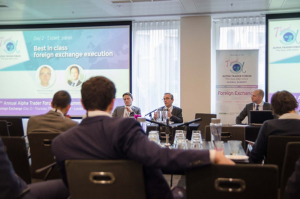 Jean-Philippe Male (BidFX),  Martin Knudsen (Bloomberg) and Kristian Karppi (K&KGC)