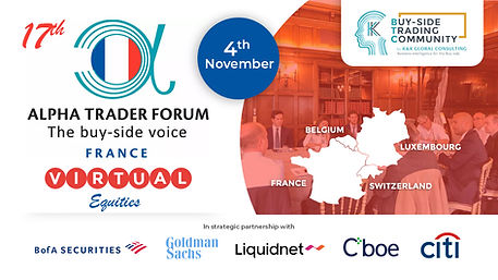 17th Alpha Trader Forum Equities & Fixed