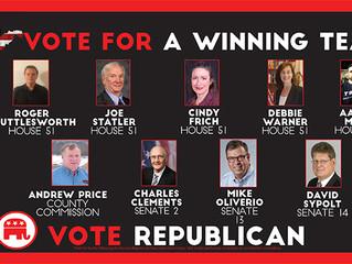 Republican Slate for Monongalia County