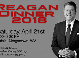 Reagan Dinner 2018 Information