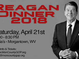 Reagan Dinner 2018 Information