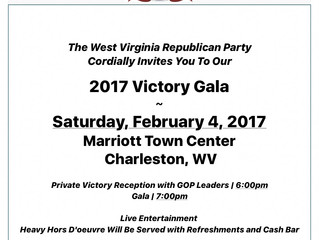 WV GOP VictoryGala --February 4, 2017