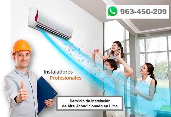 Aire Acondicionado en Lima. Instalación, mantenimiento y reparación.