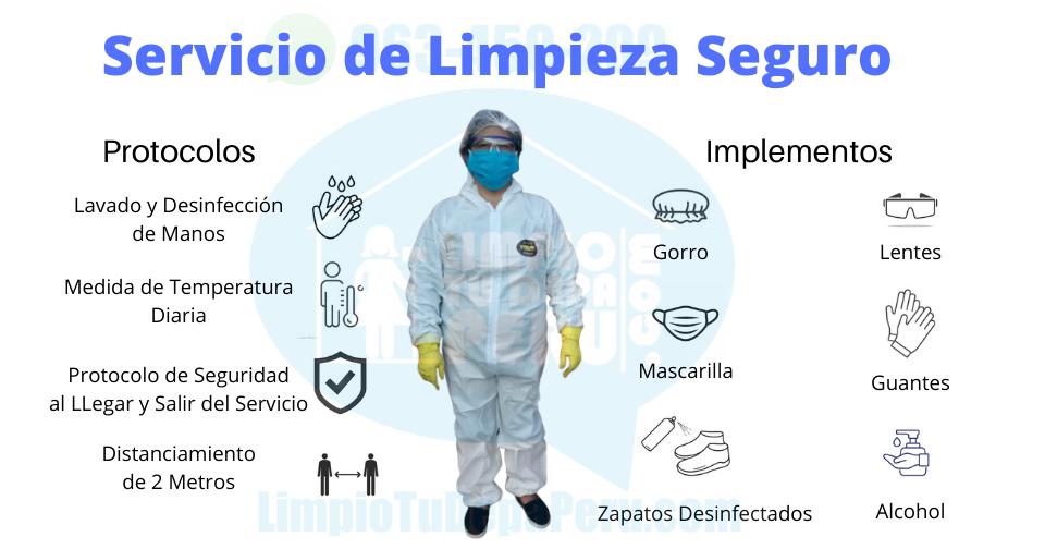 Servicio de Limpieza y Desinfeccion de C
