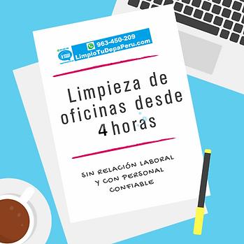 Limpieza de Oficinas en Lima