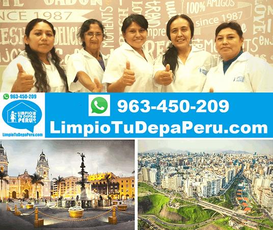 Servicios de Limpieza en Lima