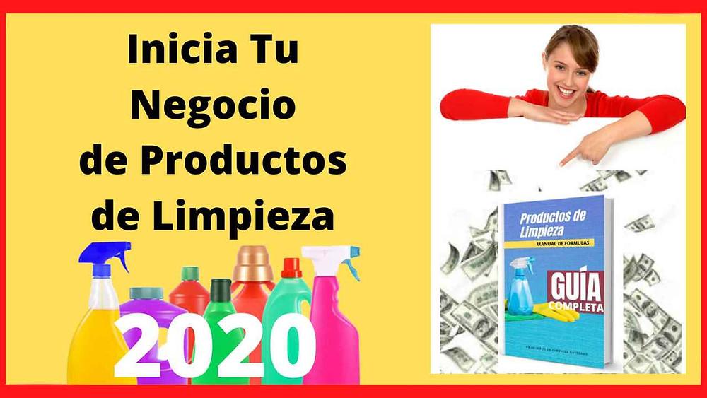 Guía Para Empezar un Negocio de Fabricación de Productos de Limpieza en Perú