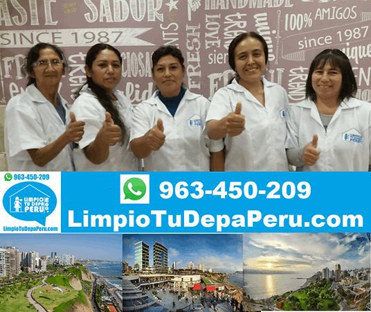 Servicios de Limpieza en Miraflores