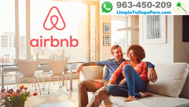 Servicio de Limpieza Airbnb en Lima Perú